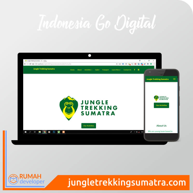 Jungle Trekking Sumatera | Rumah Dev